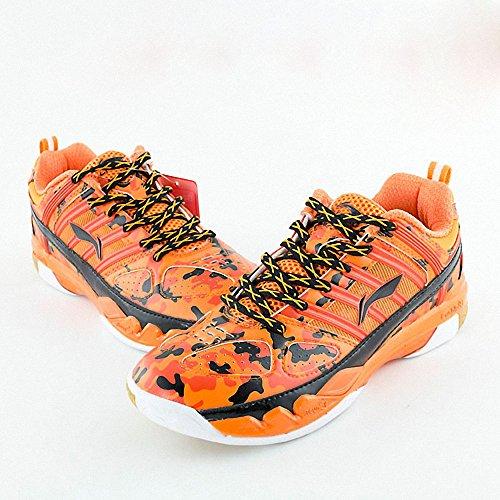 李宁 15年 室内运动鞋小黄鞋迷彩AYAK018专业羽毛球比赛鞋