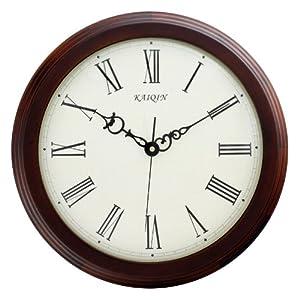 钟表欧式田园静音简约钟客厅罗马字钟图片