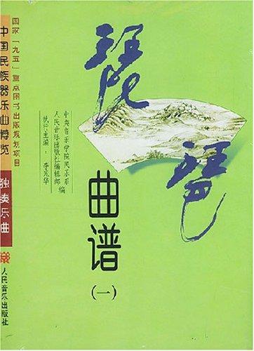 琵琶曲谱 共4册