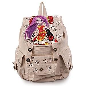简单的说,包上有手工绘画画面的包就称为手绘包.
