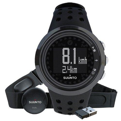 SUUNTO 颂拓 M5黑金刚MINI数据接收器套装锻炼男表 SS018260000-图片