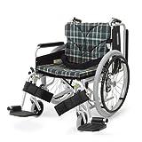【和美德】日本河村轮椅 KA800系列 航太铝合金多功能型轮椅车 淡雅绿-图片