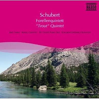 """进口cd:舒伯特:钢琴五重奏""""鳟鱼""""(cd)8571101"""