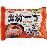 出前一丁高品质即食方便面北海道味噌猪骨浓汤味100g*6(香港进口)