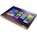 Lenovo 联想 Yoga2-13 13.3英寸笔记本电脑( yoga2 13-ITH (I) I3-4030U 4G 128G PC平板二合一  1920*1080全高清分辨率配合IPS炫彩壳屏图像更细腻清晰,170°广视角和高亮度屏幕适应任何场景,10指触控与极速30毫秒响应使触控称享受。