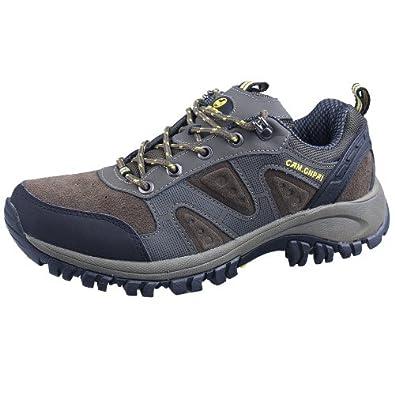 CAM.GNPAI 骆驼队长 徒步鞋 登山鞋 优质反绒牛皮 CB238147009
