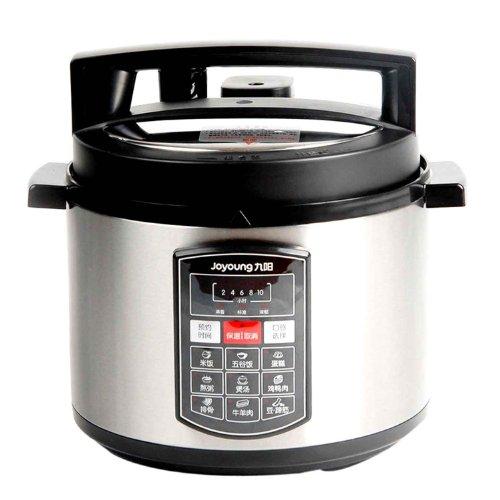 九阳电压力锅JYY-50YL1(5升电脑版、10小时预约、九大菜单、保温功能)