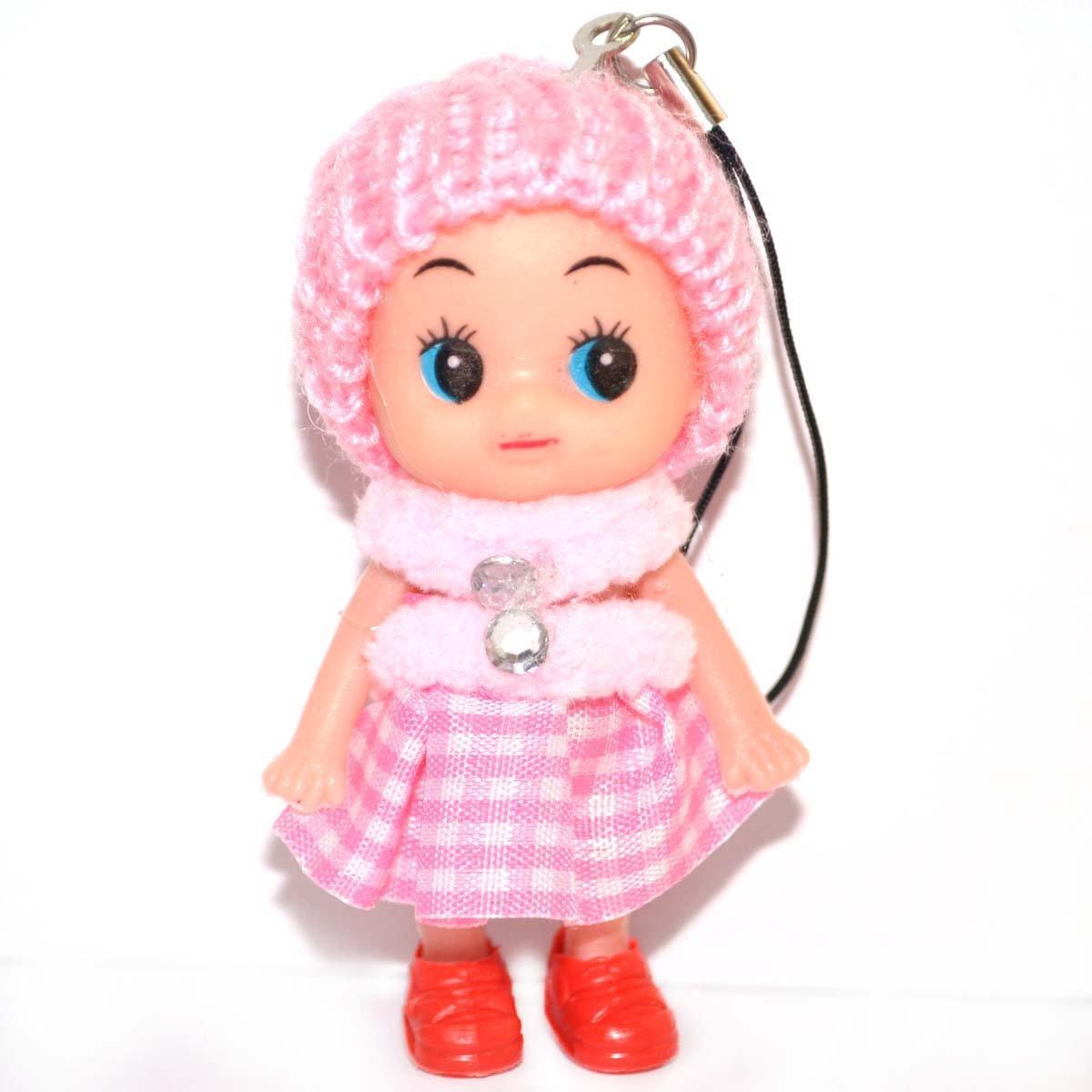 爆款可爱迷糊娃娃 小丑娃娃 手机挂饰 创意礼品玩具 8