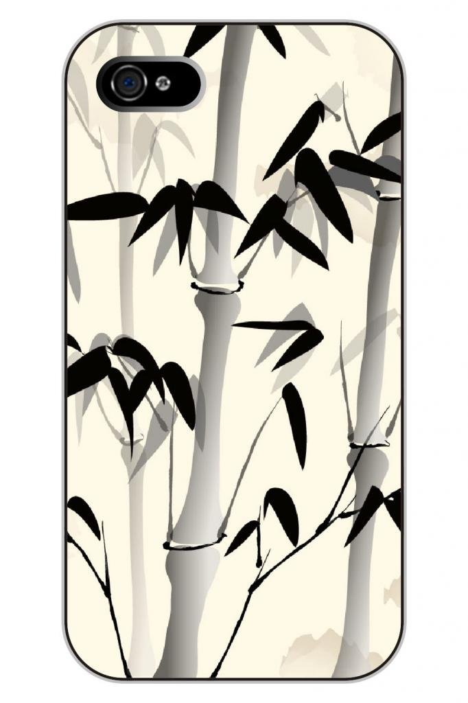 钢琴烤漆坚固耐用 德国客户挚爱的彩绘设计系列之:中国水墨画-竹子