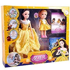 益智真眼长发 美人鱼公主 女孩礼物 设计搭配 芭比童话故事芭比娃娃-