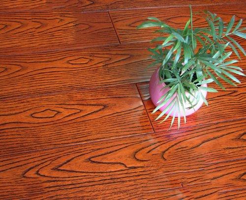 美树林 美树林实木地板 小橡木大浮雕实木地板910*123*18mm 8829 9929