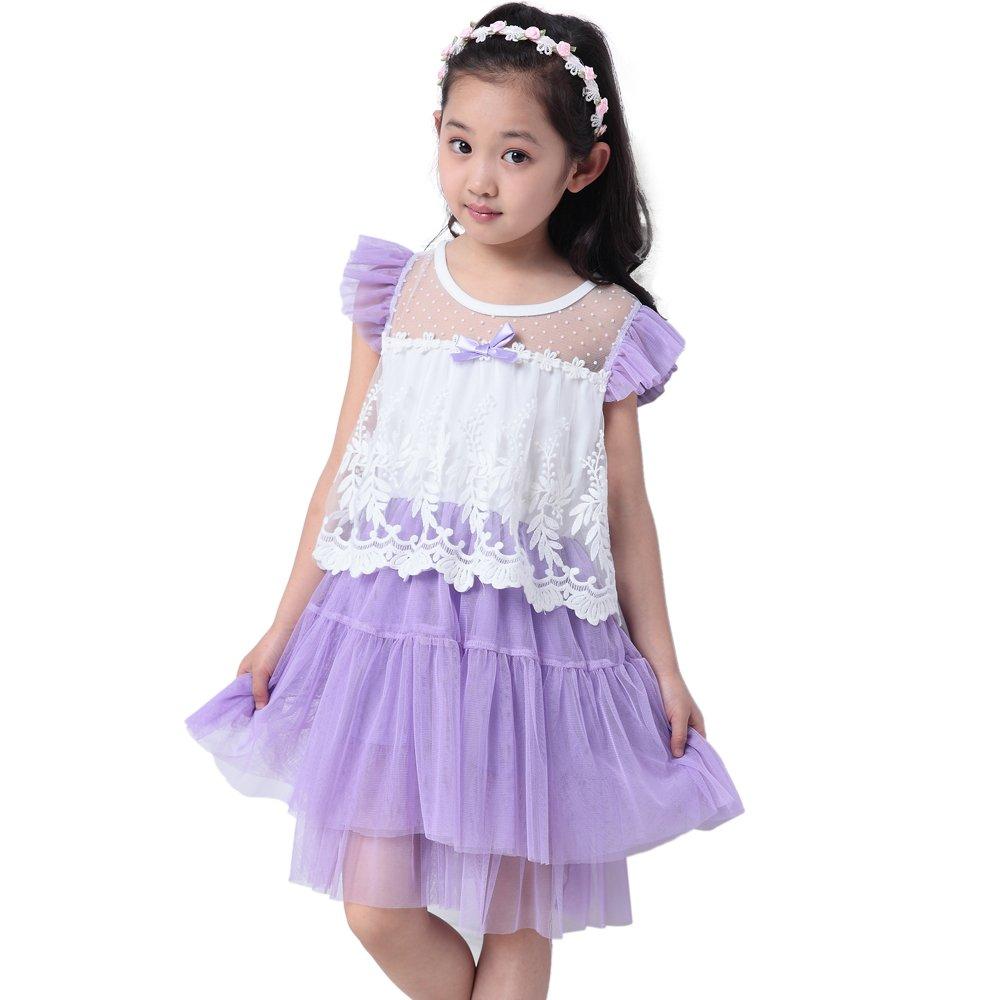 女童连衣裙夏季
