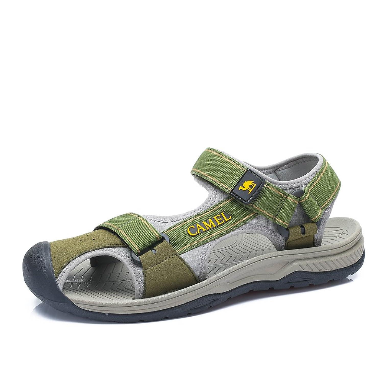 Camel 骆驼 户外沙滩鞋 男款夏季凉鞋 防滑橡胶底 舒适时尚沙滩凉鞋A422162077