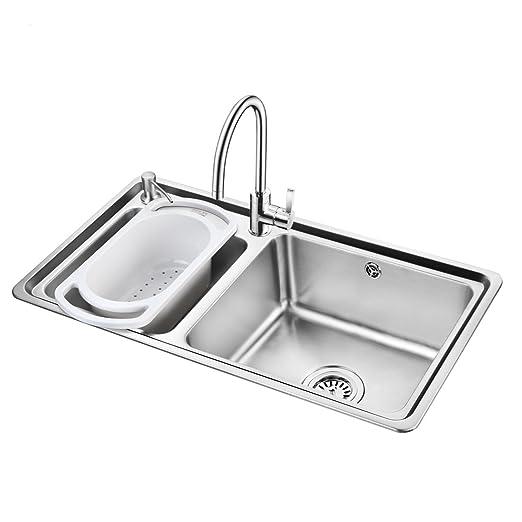 OULIN欧琳不锈钢双盆水槽套餐OLC78430+OL-8101 ¥799-60=¥739