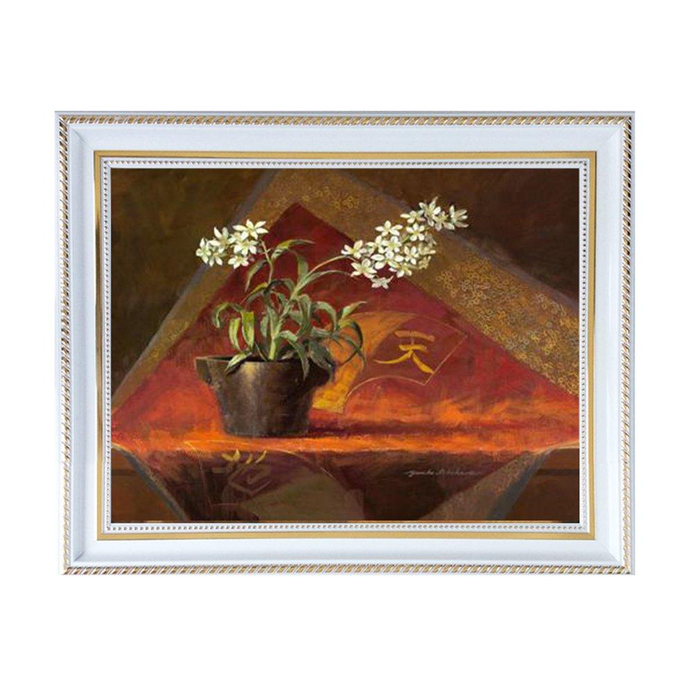 室全室美 客厅现代装饰画有框画沙发背景墙壁画挂画欧式抽象 昙花再现