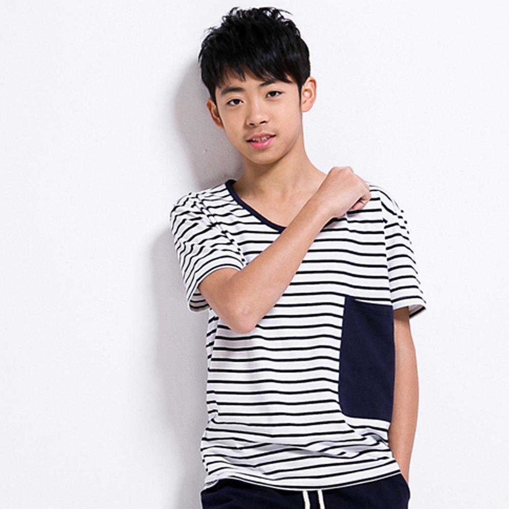 男大童运动套装夏装纯棉2014新款中童少年装韩版儿童