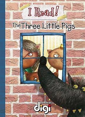 BookDNA漫画绘本书系—— 我阅读!三只小猪 I Read! The Three Little Pigs.pdf