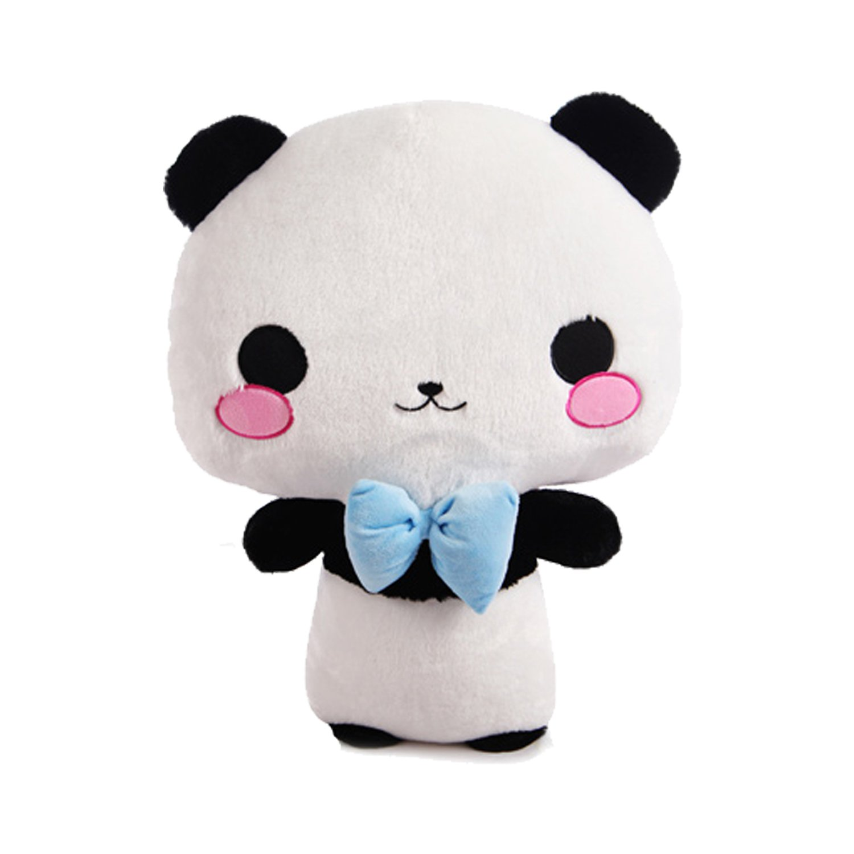 奥维斯可爱的安吉熊猫公仔毛绒玩具50cm
