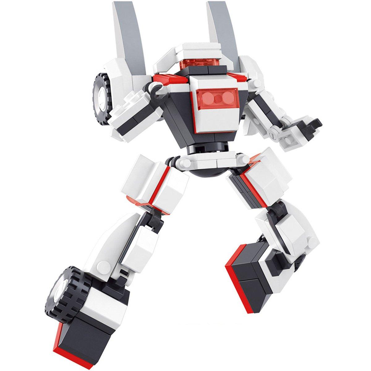 SLUBAN小鲁班星球大战拼装机器人乐高式积非标ict图纸图片