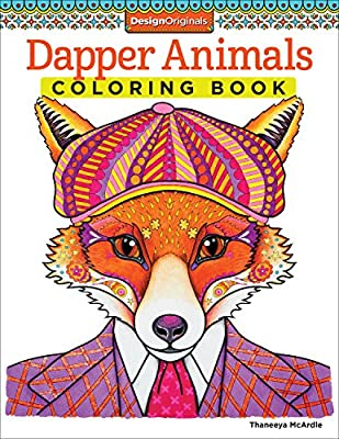 Dapper Animals Coloring Book.pdf