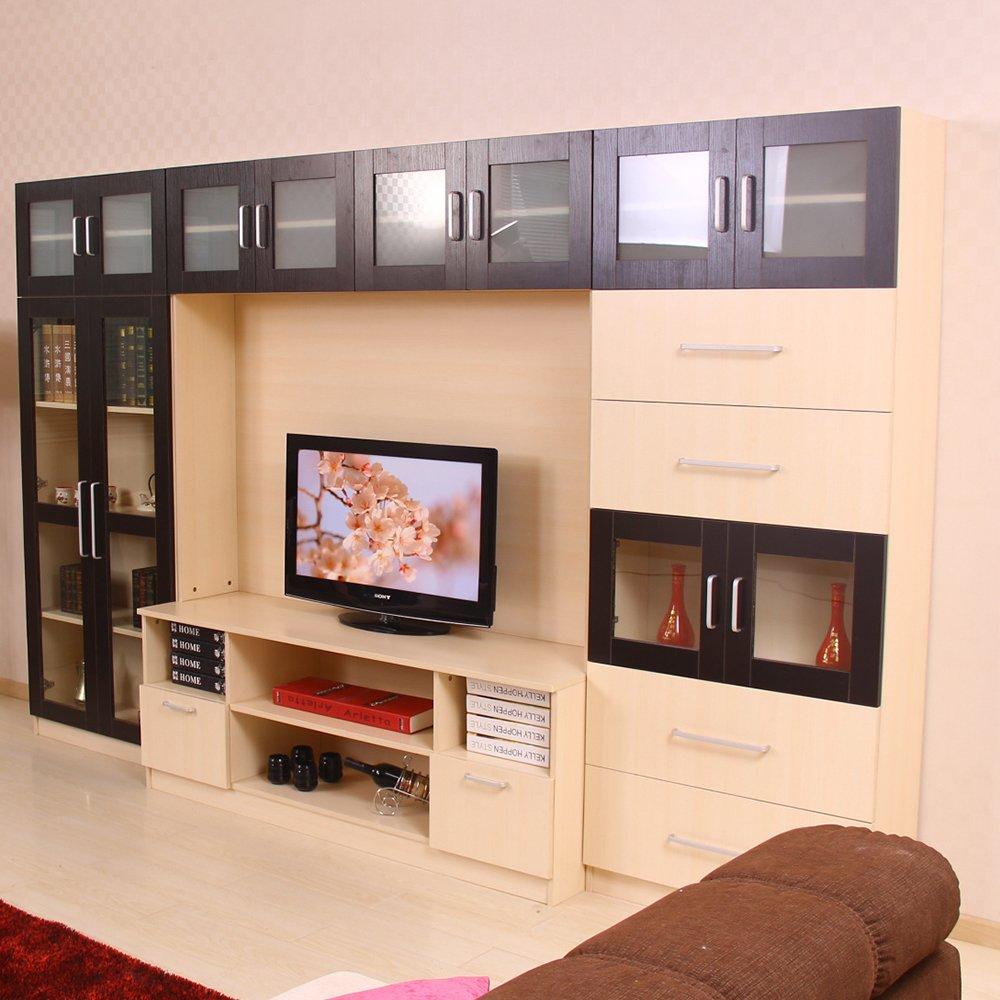 美 宅现在简约 时尚创意板式家具 电视柜 背景墙 (电视柜-1) (长3200x图片