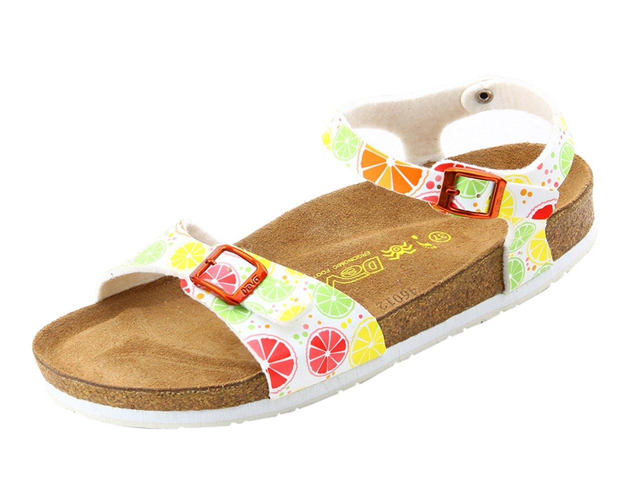 软木舒适鞋简约透气女凉鞋夏季平跟沙滩鱼