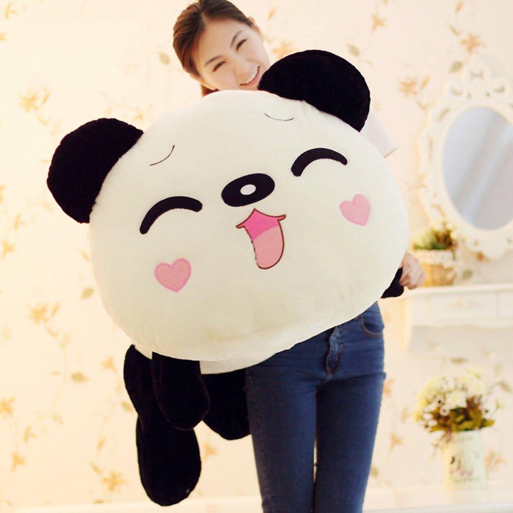 米朵 趴趴熊猫毛绒玩具可爱熊猫公仔抱枕娃娃 生日节日礼物送女生