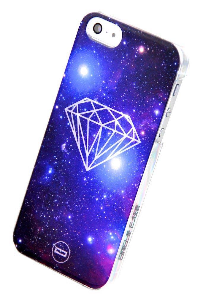 圆型 苹果 iphone 5 星空宇宙系列 手机壳 /保护套附送屏幕保护膜保护