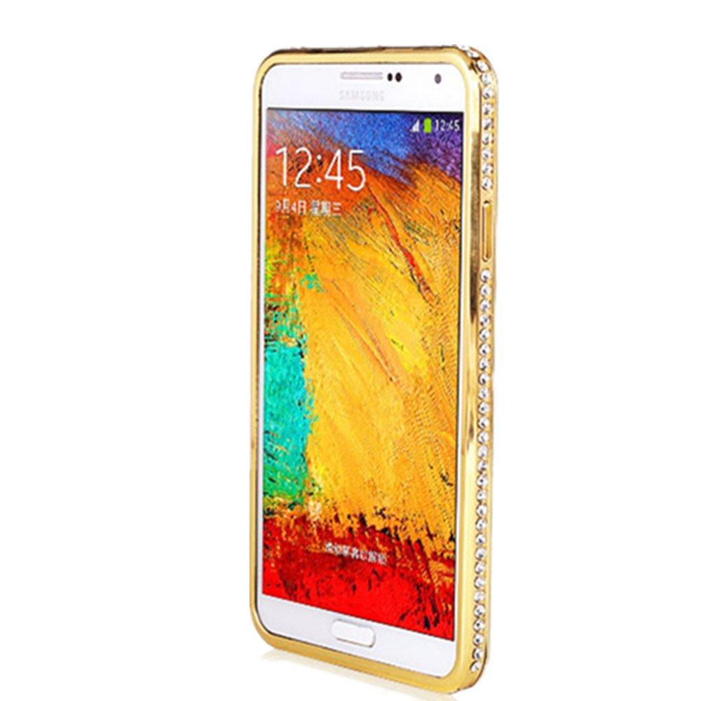 镶水钻石 9000手机壳n3 保护边框 9008开孔精准 奢华之选加高设计