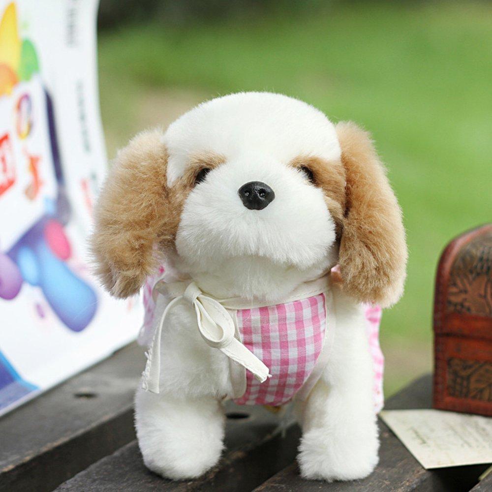 玩具狗会走会叫可爱小狗