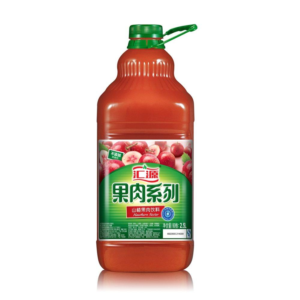 坂����9.`�j�9�!yolz)�_汇源pet桶装系列山楂果肉2.5l