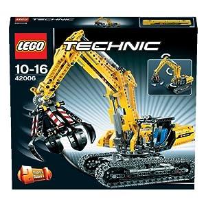 LEGO 乐高 乐高机械组 挖掘机 42006  $75.26