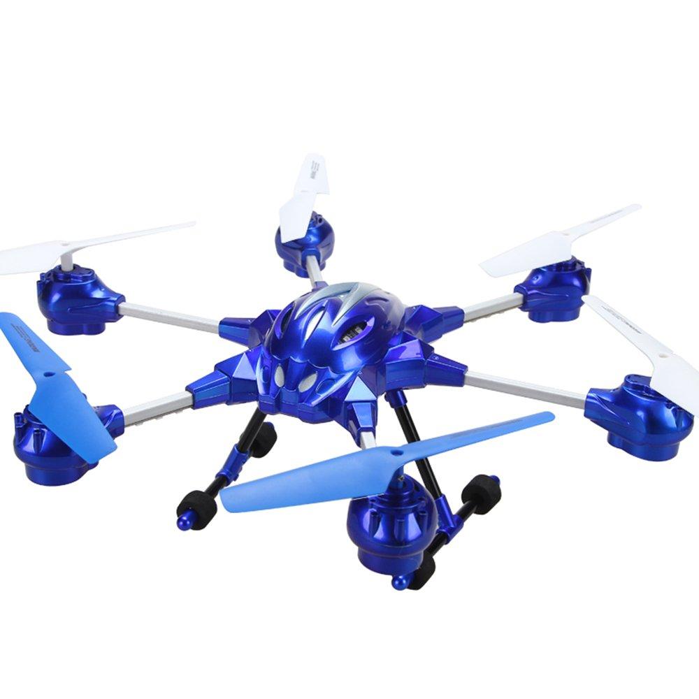 活石 合金六轴航拍飞行器 一键自由翻滚遥控飞机 超长