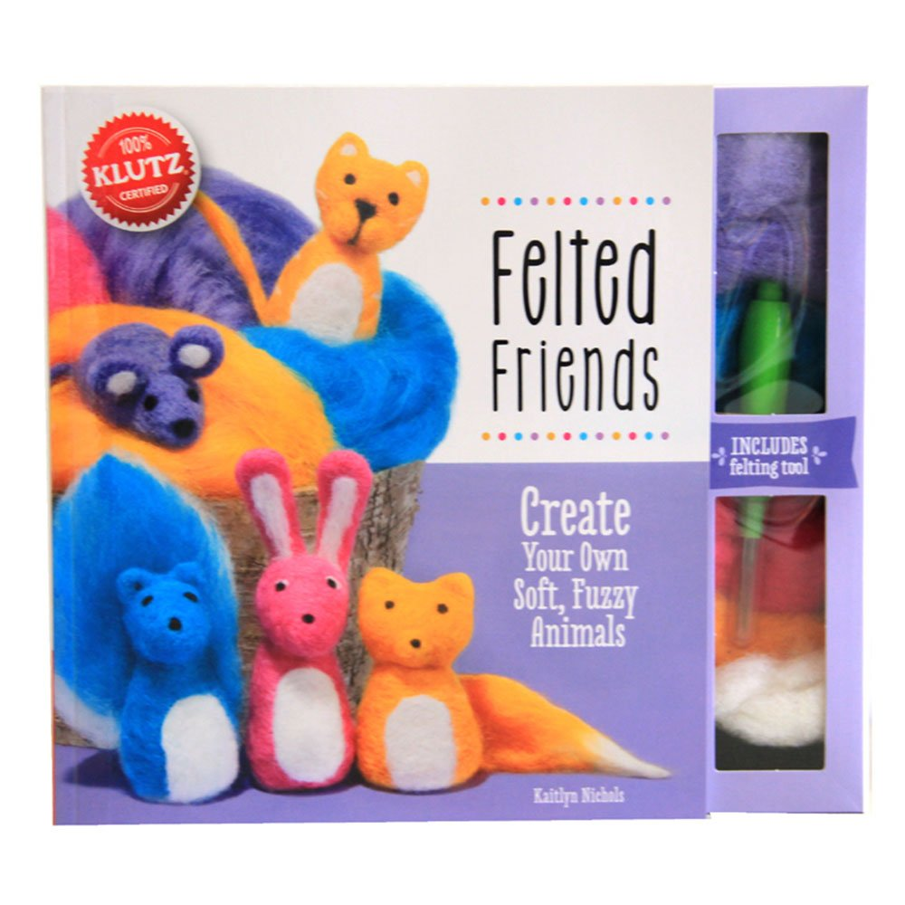 儿童益智图书 手工制作diy玩具 男孩 女孩毛绒小动物