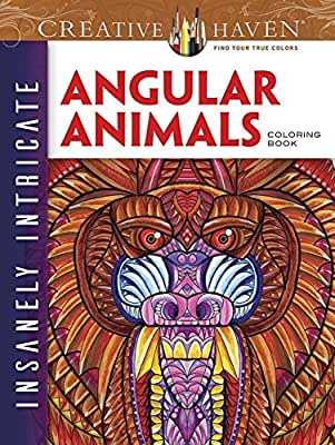 Creative Haven Insanely Intricate Angular Animals Coloring Book.pdf