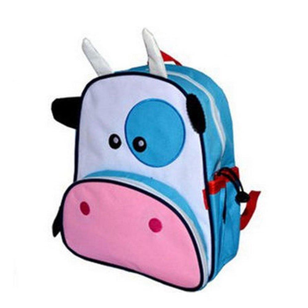 dala达拉儿童卡通动物儿童书包小学生幼儿园婴儿双肩背包男女童 (奶牛