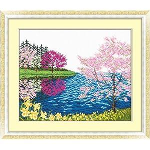 尚世纪 法国dmc十字绣正品专卖最新款十字绣卧室小画 风景系列 春之声