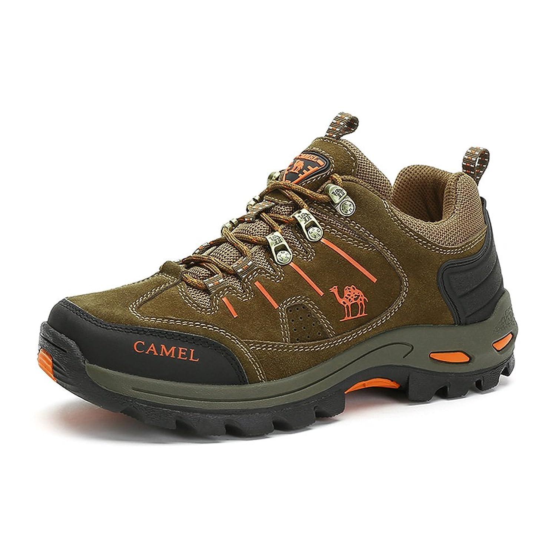 Camel 骆驼 户外男款徒步鞋 2015秋季新款防滑减震耐磨徒步鞋