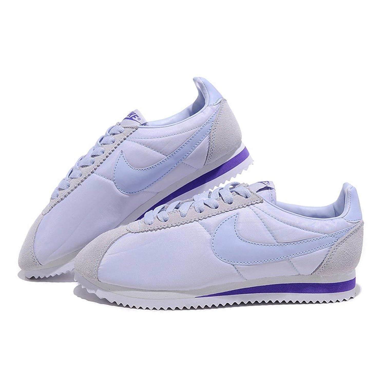 nike 耐克 女鞋 新款 阿甘 系列跑步鞋 白紫色 4
