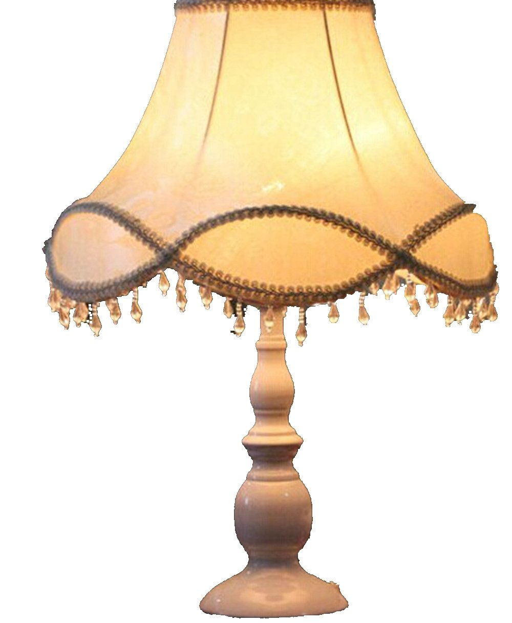 欧式台灯 卧室蕾丝温馨床头灯