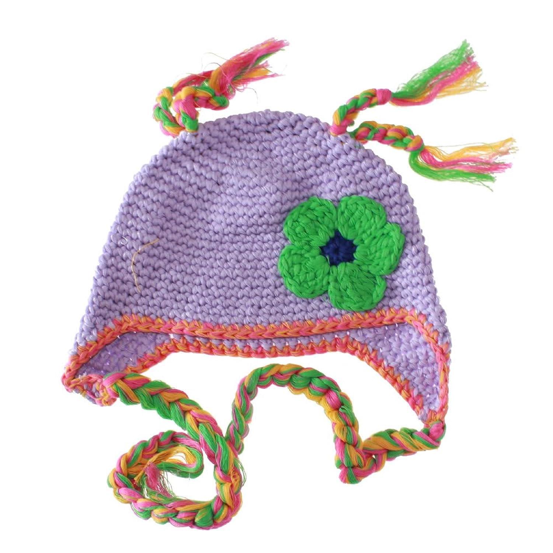 欧美风全棉时尚手工婴儿编织帽子 手钩婴儿童帽 儿童棉线帽子 小孩
