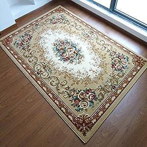 锦川 简欧式田园中式日韩风格 客厅茶几卧室床尾地毯