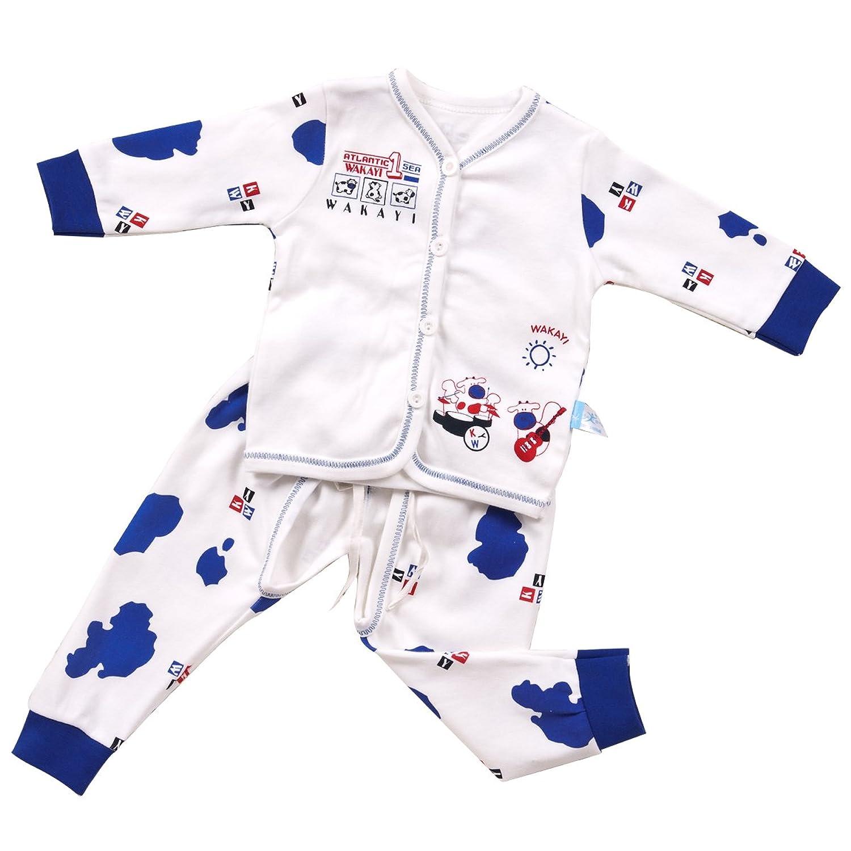 婴幼儿纯棉纽扣卡通套装