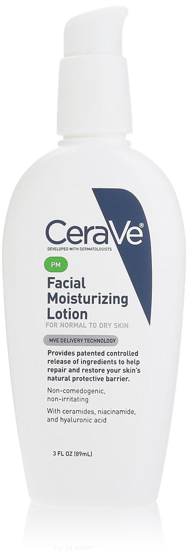 CeraVe保湿化妆水PM,3盎司(85g)