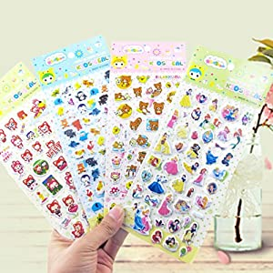 阿斯卡罗 105张套装卡通贴纸奖励贴泡泡贴贴纸册涂画册粘贴纸贴画贴贴