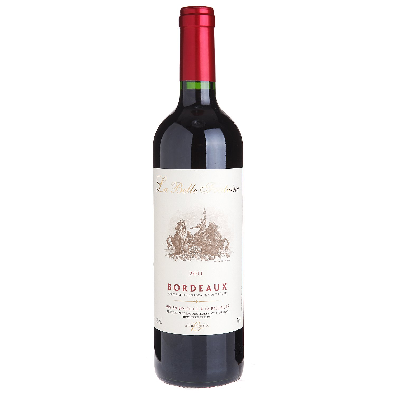 【木桶网】红酒 法国原装进口红葡萄酒 美泉堡干红葡萄酒 aoc等级 六