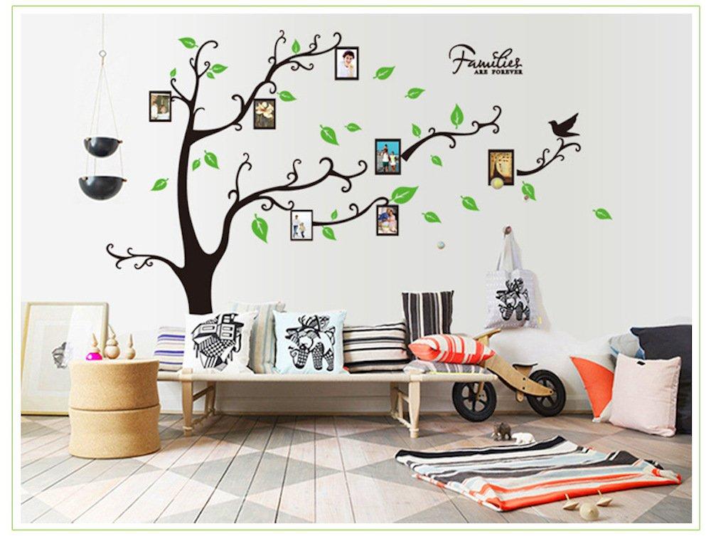 yomate 优品生活 创意照片墙 可移除贴纸 客厅书房走廊相框贴 大型图片
