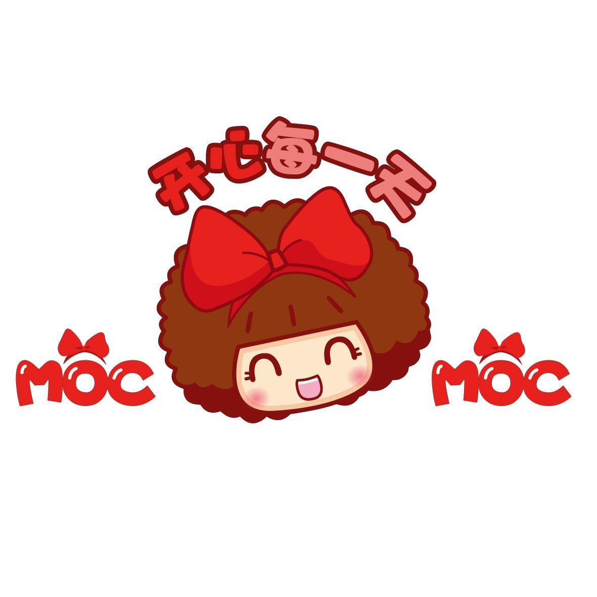 mocmoc 摩丝娃娃开心每一天 机盖贴 汽车划痕贴 搞笑可爱卡通 个性