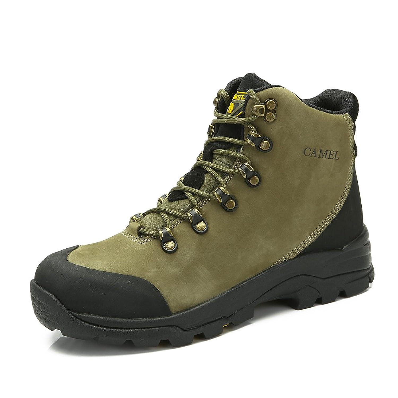 Camel 骆驼 户外登山鞋 2014新品男款高帮减震头层牛皮登山鞋A432026165
