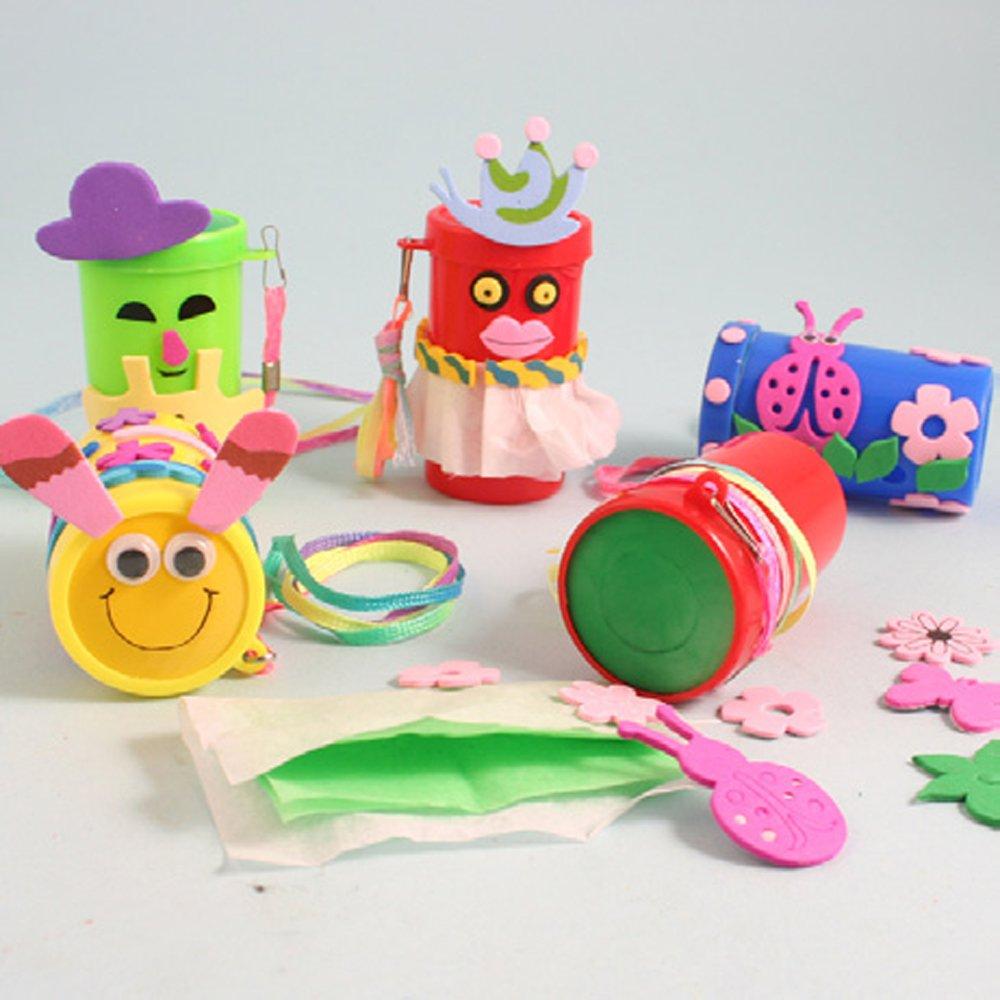 大班美术区自制玩具-手工制作 玩具